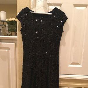 Little black sequins dress size L